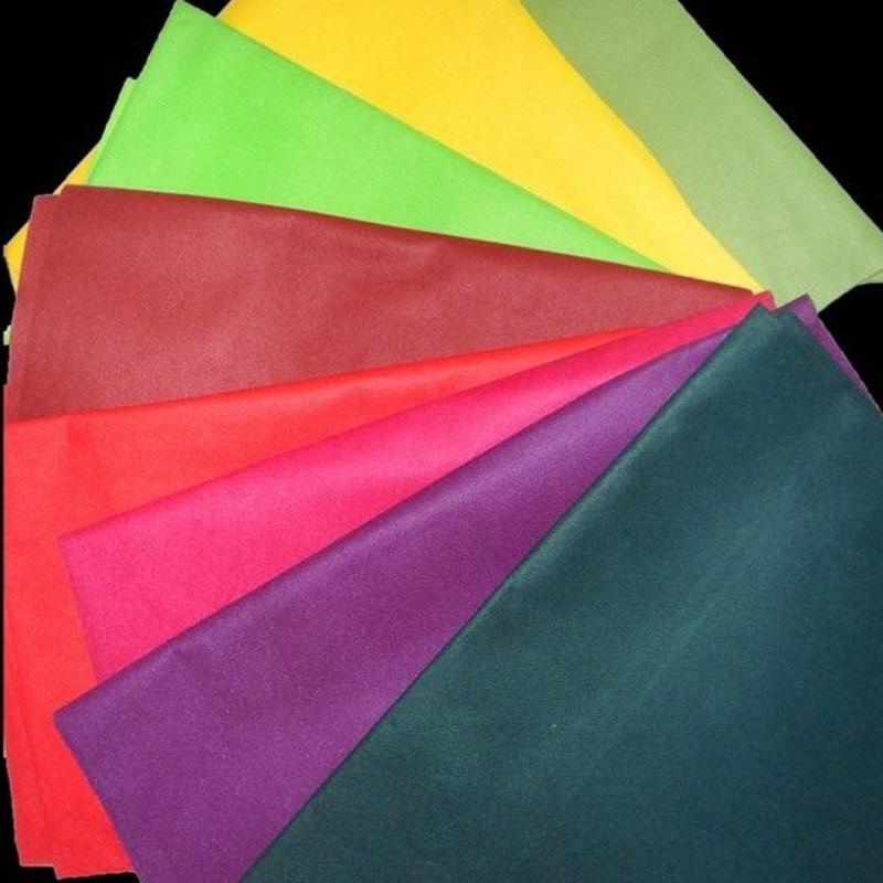 供应各种颜色购物袋包装PP无纺布  纺粘无纺布图片一