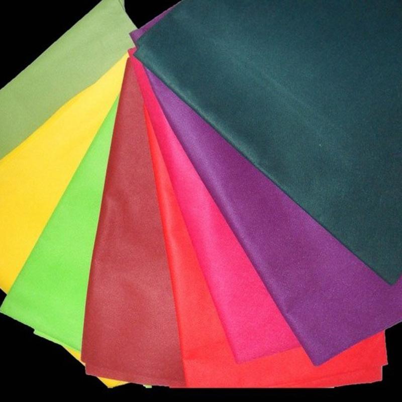 供应各种颜色购物袋包装PP无纺布  纺粘无纺布图片二