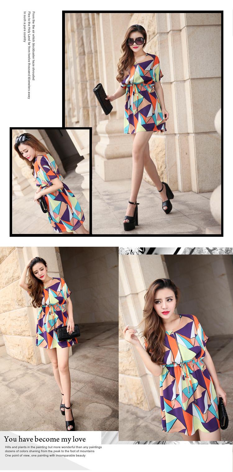 爆款专柜直销 2014原创欧美风修身  品牌连衣裙A397图片七