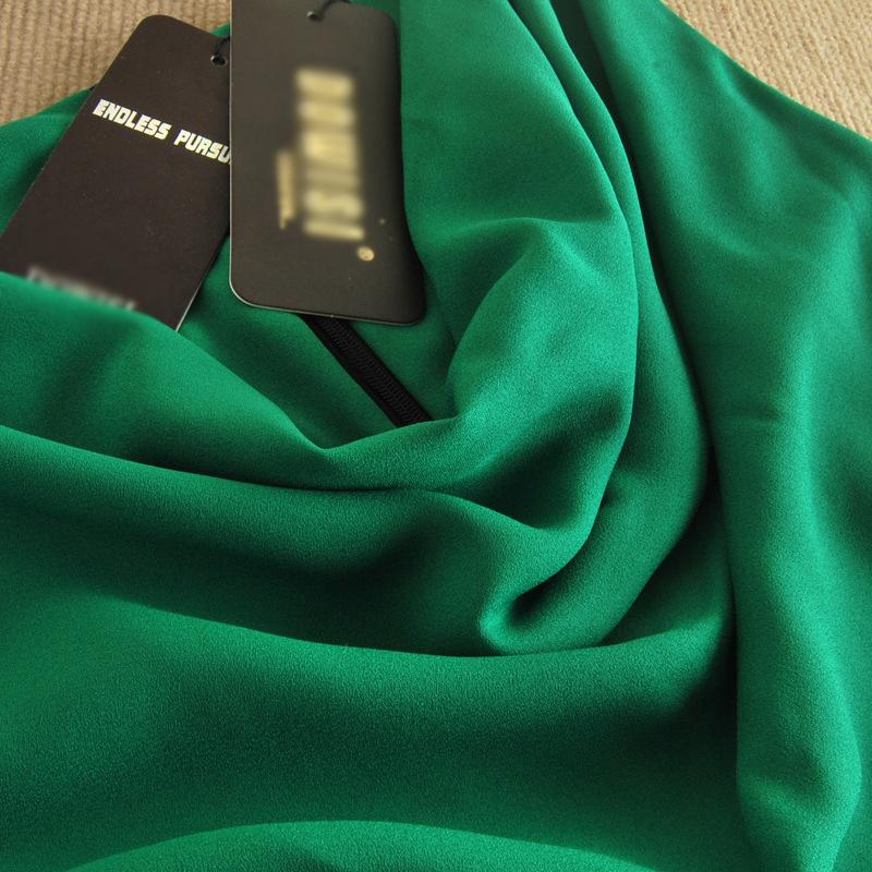 一手货源2014韩版夏季新款OL雪纺 品牌连衣裙B383图片六