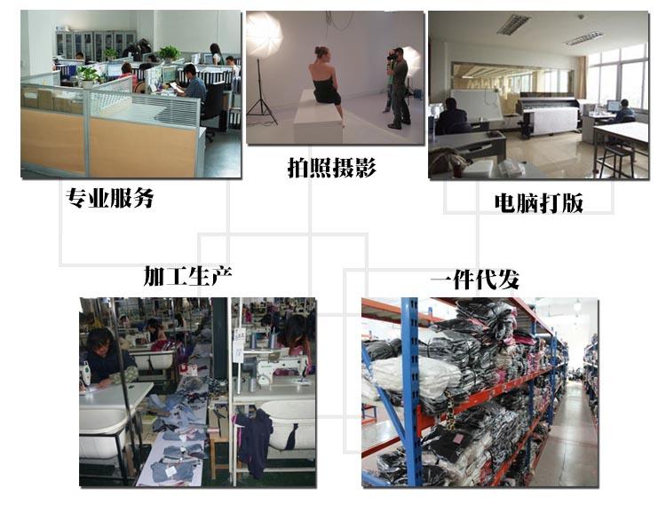 一手货源2014韩版夏季新款OL雪纺 品牌连衣裙B383图片九