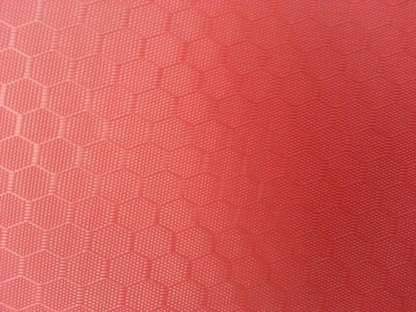 210D/PU蜂巢纹牛津布  足球纹图片二