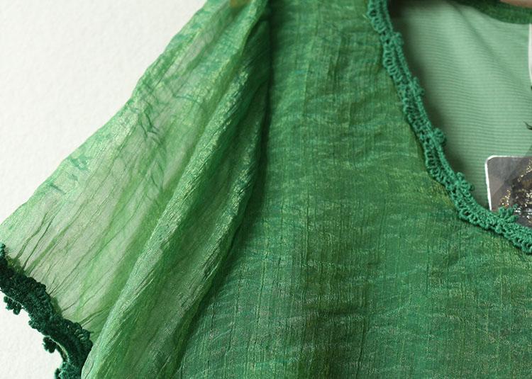 夏装 新品女装 时尚短袖雪纺连衣裙 厂价直销图片四