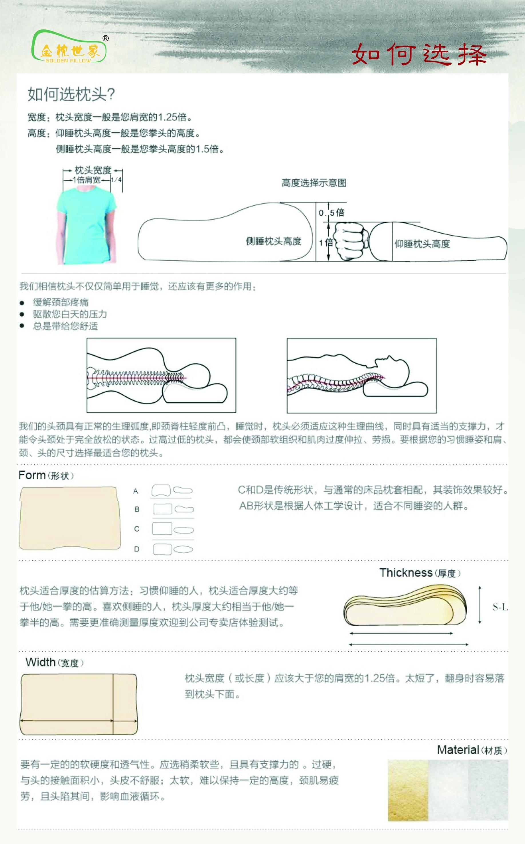 健椎按摩乳胶枕图片六