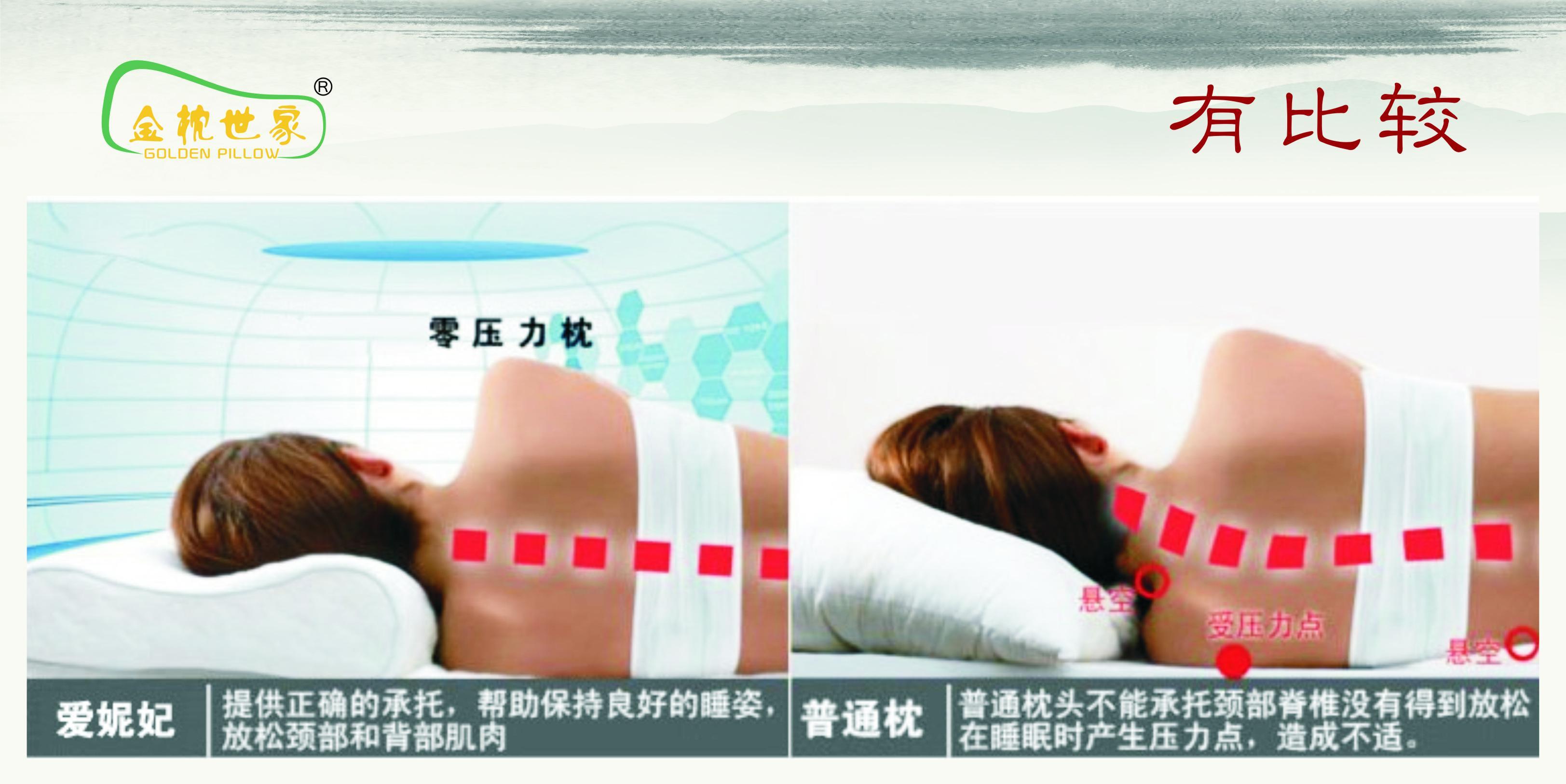 成人标准乳胶枕图片四
