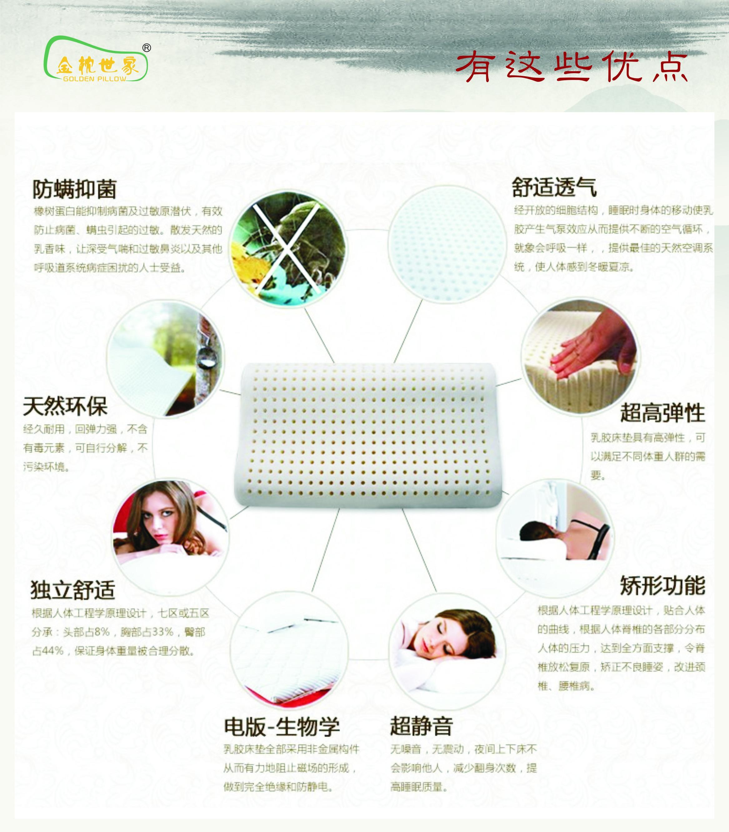 儿童健康乳胶枕图片三
