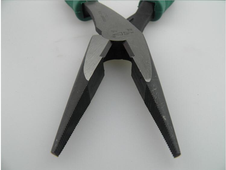 胜达工具 铬钒钢 重型省 尖嘴钳 家用电工 尖头钳图片四