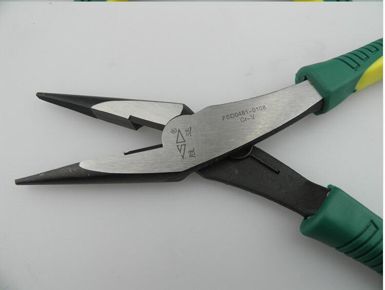 胜达工具 铬钒钢 重型省 尖嘴钳 家用电工 尖头钳图片三