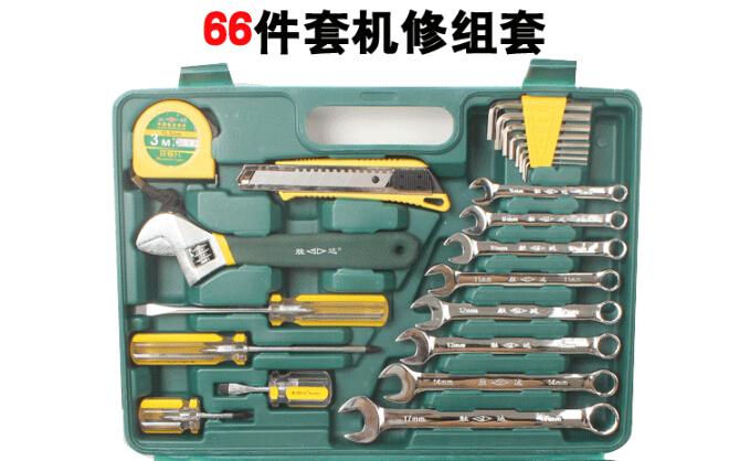 胜达66件套工具套装汽车工具箱套装 扳手套装图片一