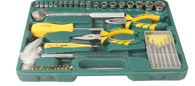 胜达66件套工具套装汽车工具箱套装 扳手套装图片二