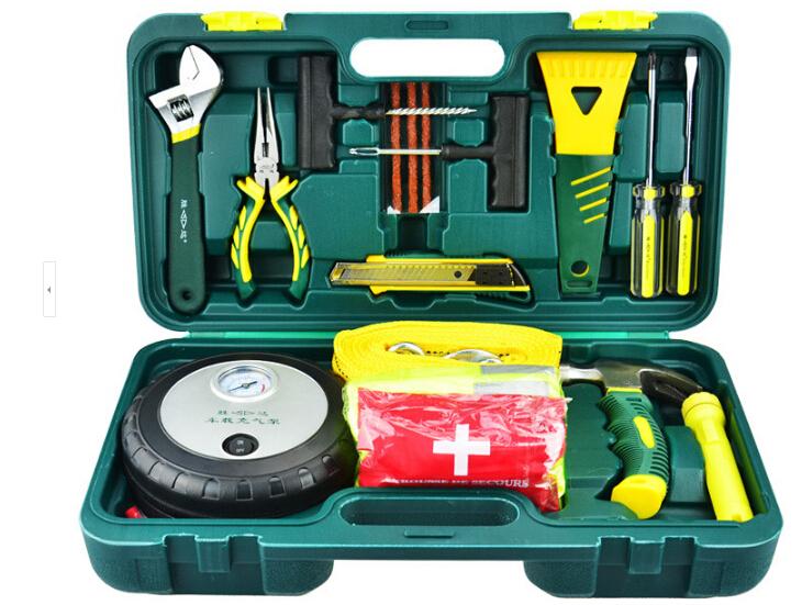 胜达66件套工具套装汽车工具箱套装 扳手套装图片三