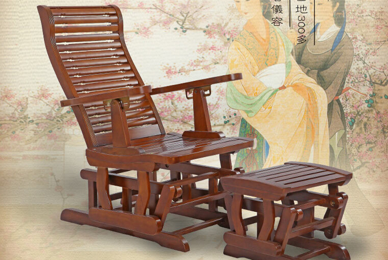 红木家具中式实木仿古躺椅阳台老人椅
