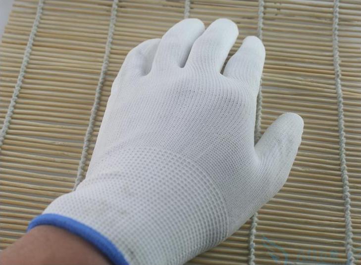 尼龙手套13针白尼龙图片三