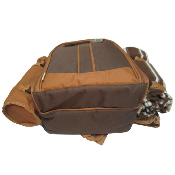 新款4人份野餐包 保温保鲜背包 双肩背包图片五