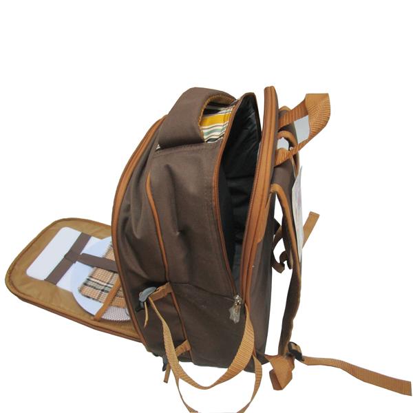 新款4人份野餐包 保温保鲜背包 双肩背包图片八
