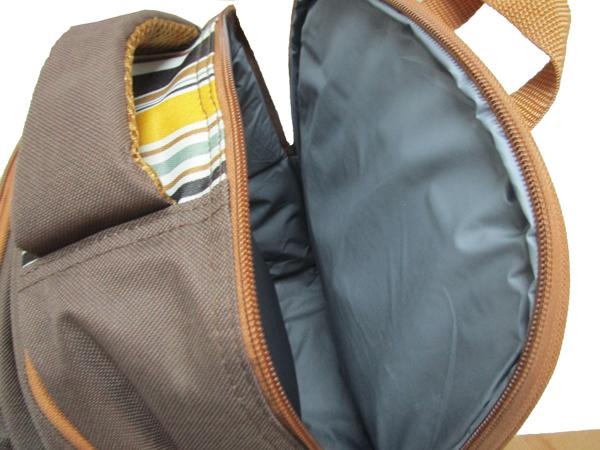 新款4人份野餐包 保温保鲜背包 双肩背包图片十