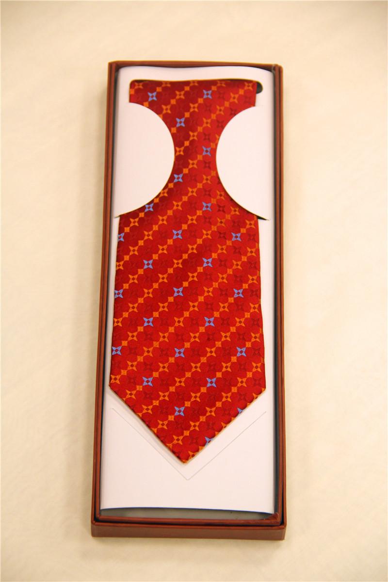 鸿乐100%桑蚕丝领带,男士商务时尚领带图片三