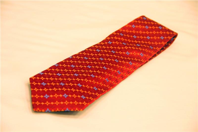 鸿乐100%桑蚕丝领带,男士商务时尚领带图片五