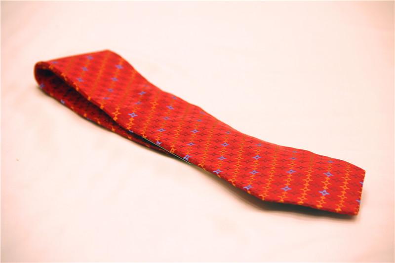 鸿乐100%桑蚕丝领带,男士商务时尚领带图片七