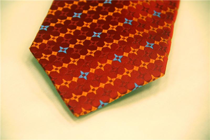 鸿乐100%桑蚕丝领带,男士商务时尚领带图片九