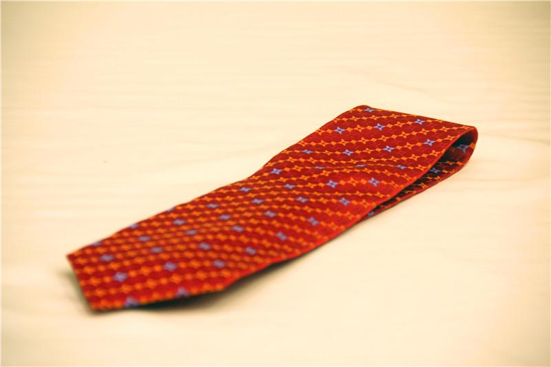 鸿乐100%桑蚕丝领带,男士商务时尚领带图片六