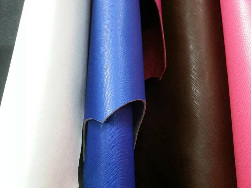 厂家直供二层牛皮、方格纹 二层牛皮批发图片四