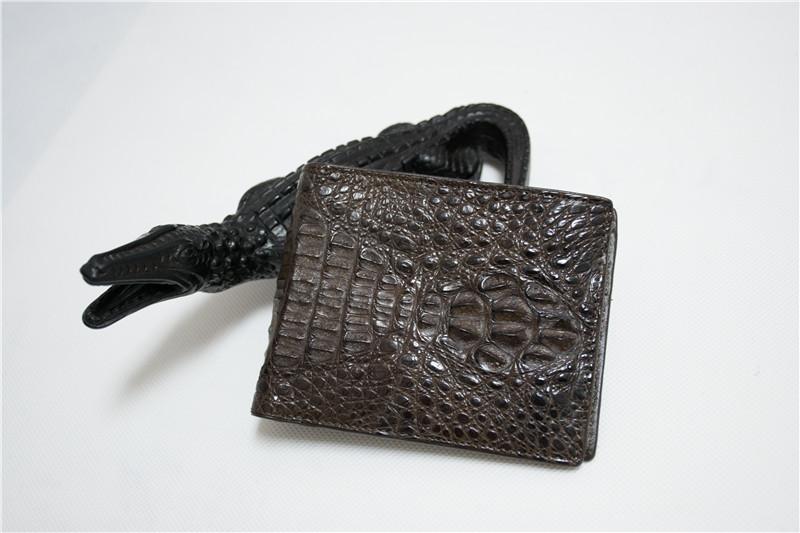 泰国 男士鳄鱼皮钱包 0201750图片三