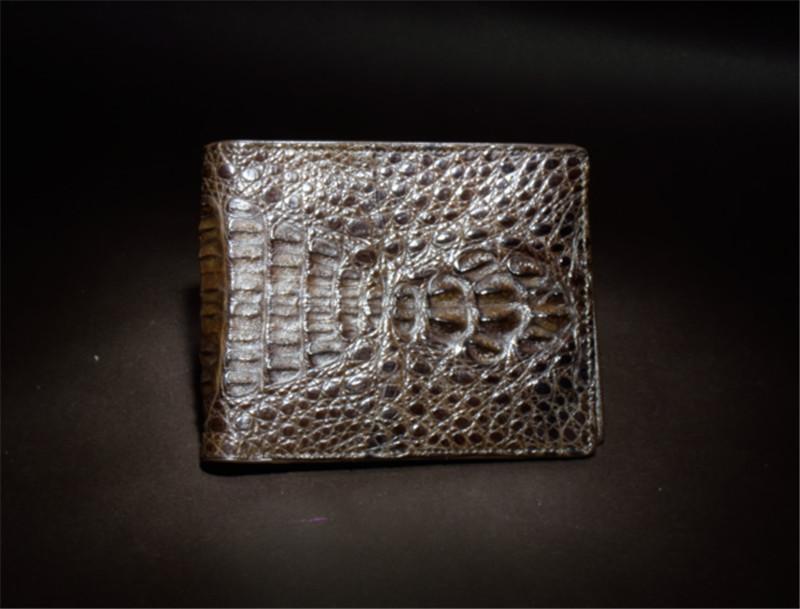 泰国 男士鳄鱼皮钱包 0201750图片十