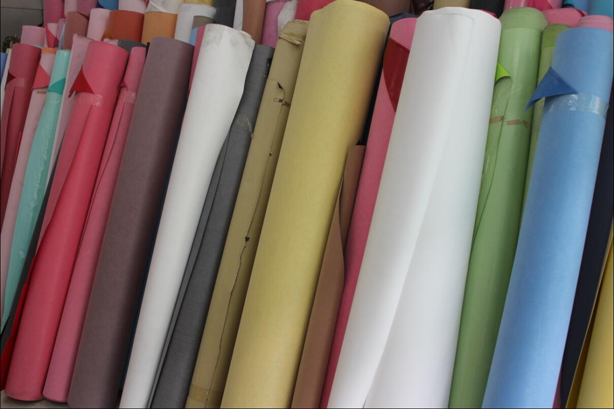 厂家直销PU革电子材料包装革热压变色手机套Y24图片三