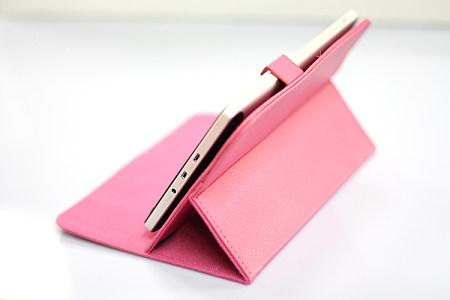 厂家直销PU革电子材料包装革热压变色手机套Y24图片五