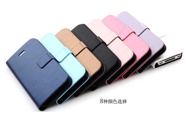 厂家直销PU革电子材料包装革热压变色手机套C1图片十