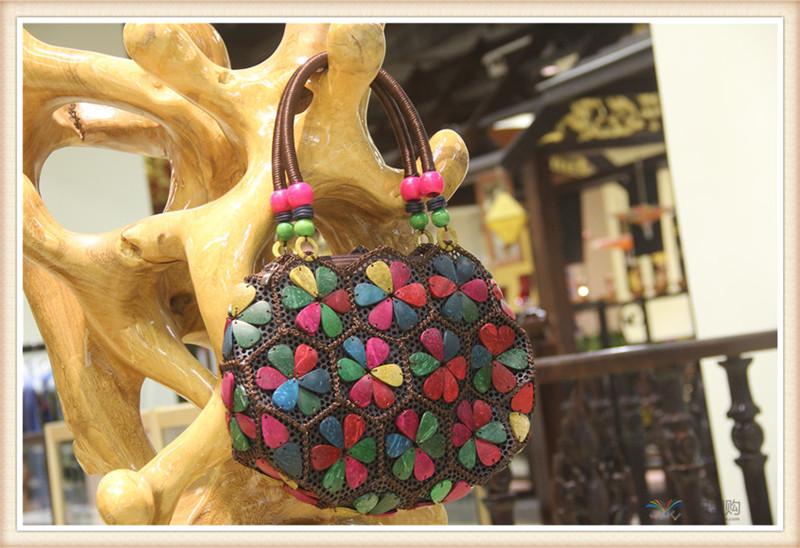 泰国 复古手提包单肩包 0203715图片四
