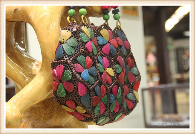 泰国 复古手提包单肩包 0203715图片八