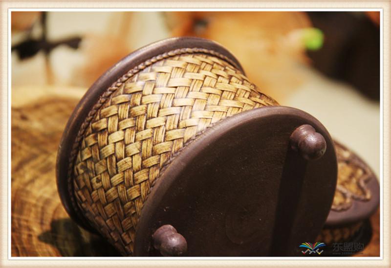 泰国 圆形竹编纸筒 0202648图片十