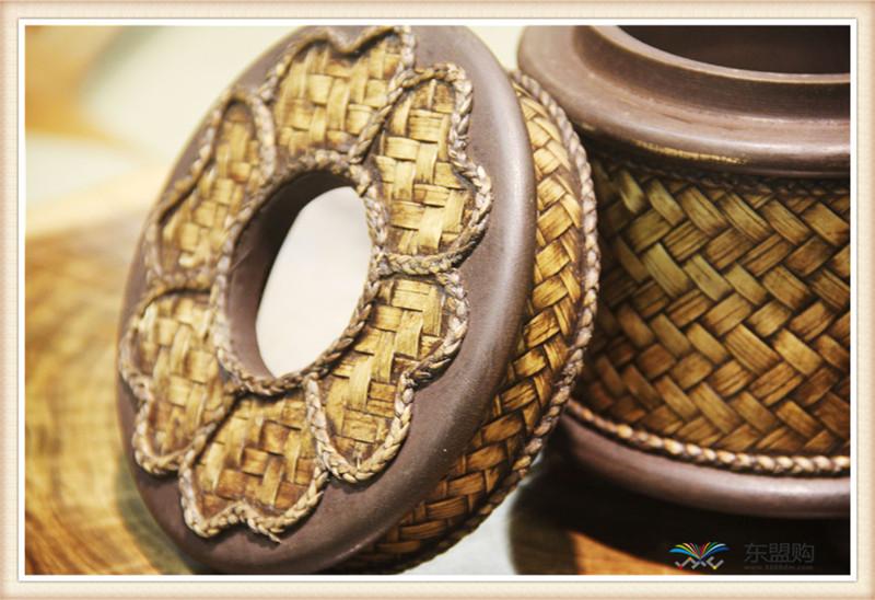 泰国 圆形竹编纸筒 0202648图片八