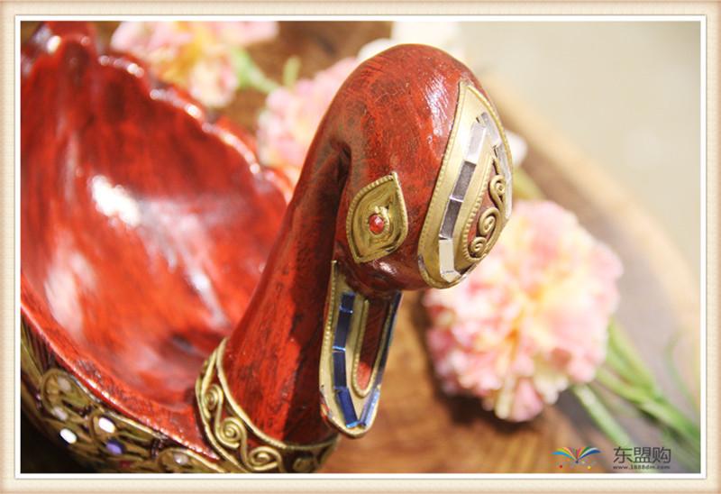 泰国 小鸭子漆器水果篮 0203101图片四