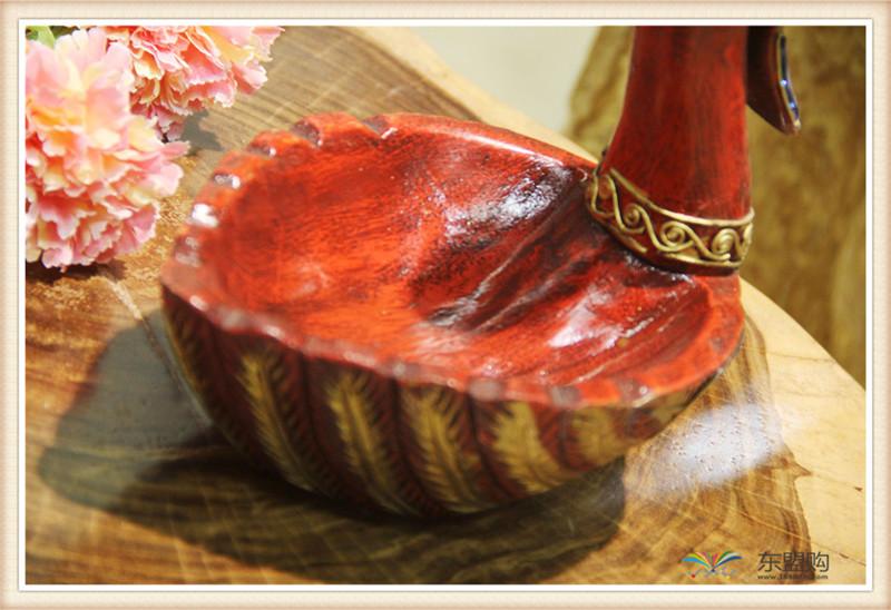 泰国 小鸭子漆器水果篮 0203101图片五