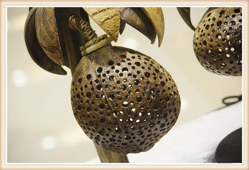泰国 椰子灯葫芦型椰子灯 0201040图片二