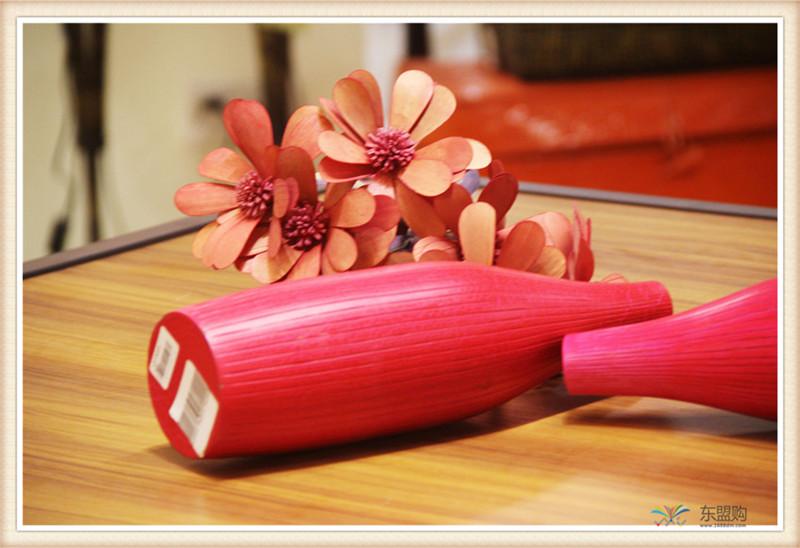 泰国 木制花瓶0203238图片六