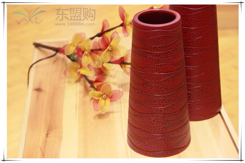 泰国 创意木质花瓶 0203200图片三