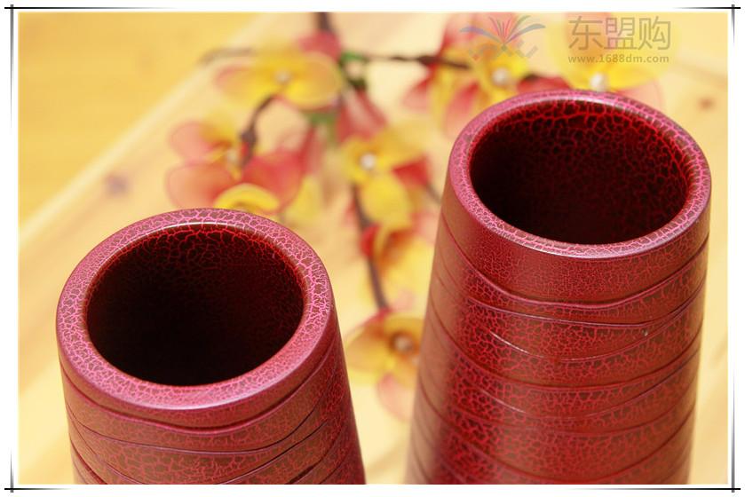 泰国 创意木质花瓶 0203200图片二