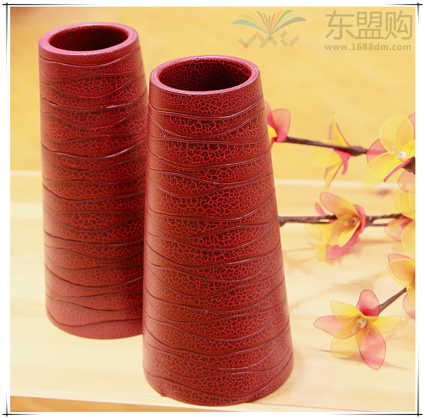 泰国 创意木质花瓶 0203200图片四