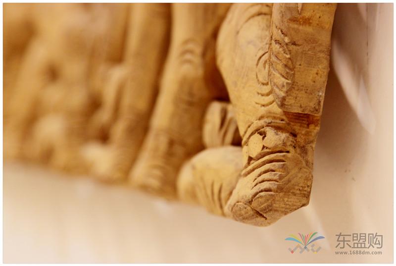 泰国 大柚木镂空板长方形雕片 0203132图片八
