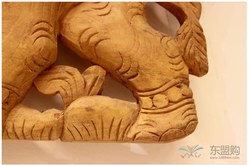 泰国 大柚木镂空板长方形雕片 0203132图片七