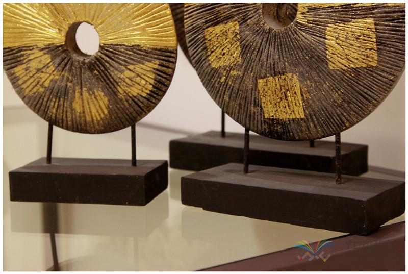 泰国 金箔摆件套装 三件套 0202736图片五