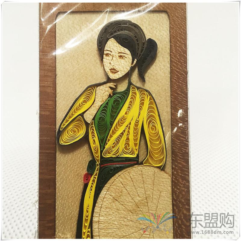 越南 手工艺品纸制书签 0203823图片七