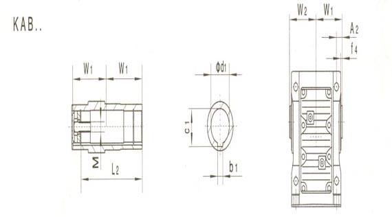 厂家直销K系列螺旋锥齿轮减速机,齿轮减速机,硬齿面图片六