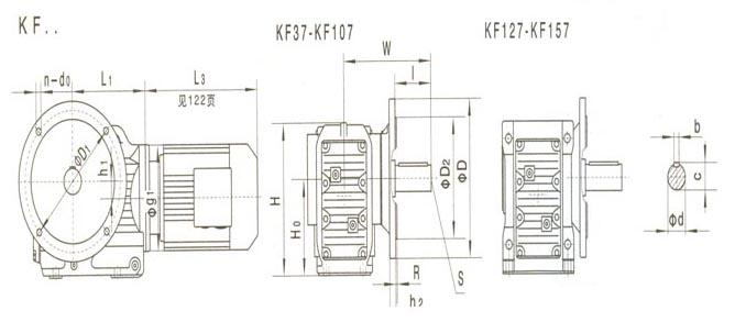厂家直销K系列螺旋锥齿轮减速机,齿轮减速机,硬齿面图片八