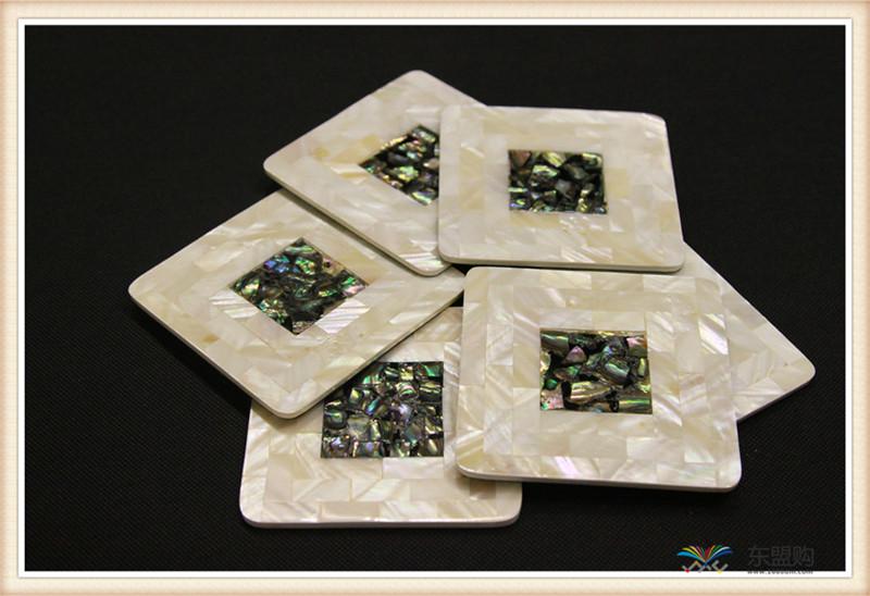 越南 贝壳杯垫 0203676图片三