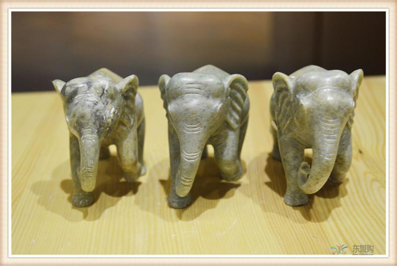 柬埔寨 手工肥皂石雕像神摆件小号 工艺品神像摆件 0203661图片二